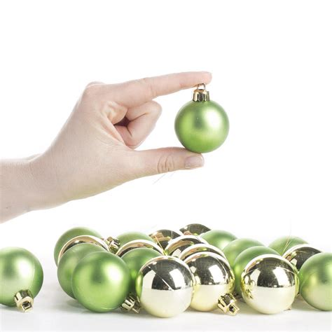 small green christmas ball ornaments christmas ornaments