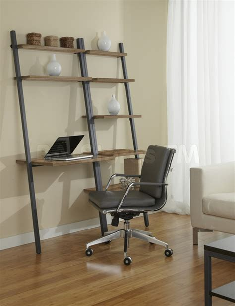 Narrow Home Office Desk Parsons Edition 2 Pc Narrow Bookcase With Writing Desk In