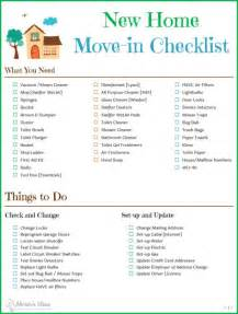 New House Checklist Tips Checklist For Moving To A New Home Akram S Ideas