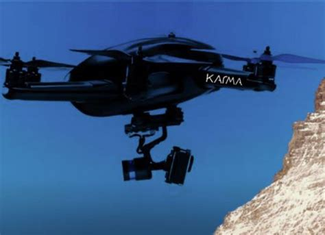 Drone Karma karma the new drone gopro not ready and not arriver before