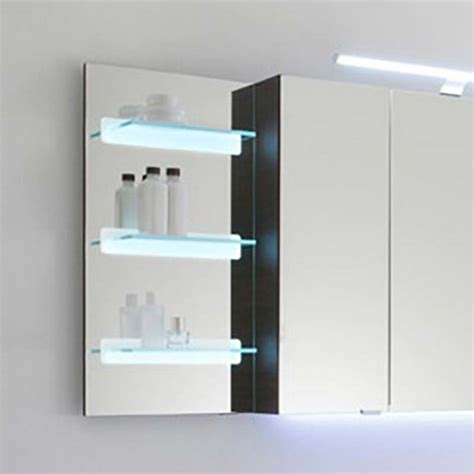 bathroom mirror glass solitaire 7005 illuminated mirror glass shelf 700x350x150