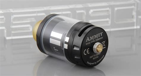 Ammit Dual Ss 30 98 authentic geekvape ammit dual coil rta rebuildable