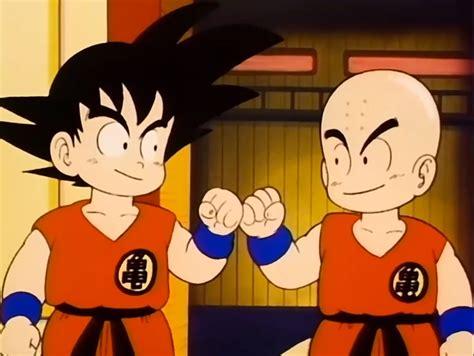imagenes de goku y krilin master roshi s training dragon ball wiki fandom