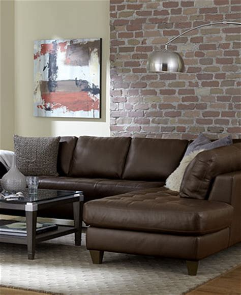 macys living room furniture milano leather living room furniture sets pieces