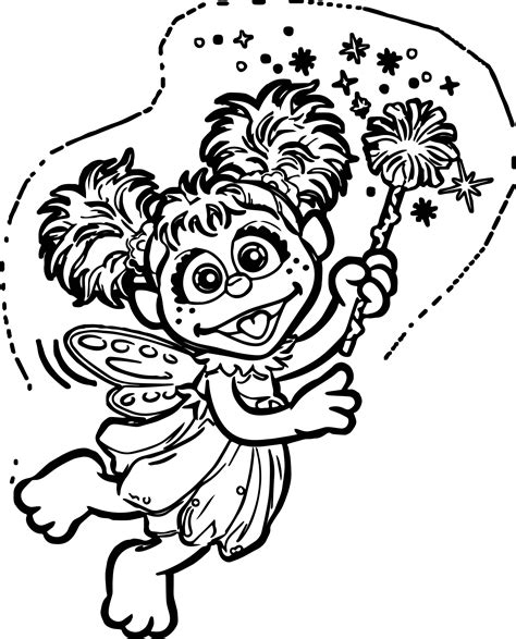 abby cadabby coloring page wecoloringpage