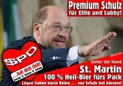 Plakat Heil Schulz by Qpress Die 4 2 Wahrheiten