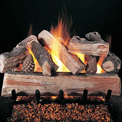 Artificial Gas Fireplace Logs by Fireplace Logs Neiltortorella