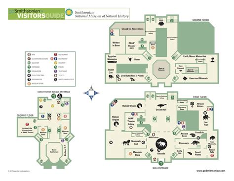 Smithsonian Floor Plan by Smithsonian National Museum Of Natural History Maplets