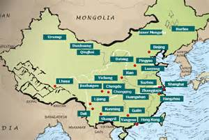 Map Of China Cities by Map Of China Major Cities Images