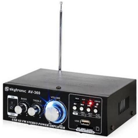 Skytronic Av 120 Stereo Karaoke Versterker Met Usb Kopen skytronic av 360 hifi stereo versterker usb sd mp3