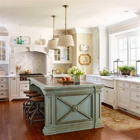 cottage style kitchen islands french country cottage french cottage kitchen inspiration