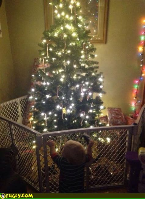 child and petprof xmas tree how to baby proof your tree