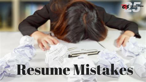 Resume Mistakes by Resume Mistakes That Cost You The It It Recruiters