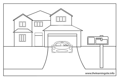 coloring pages of a house best coloring pages collections