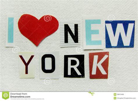 Handmade Paper Nyc - i new york royalty free stock photo image 29813465