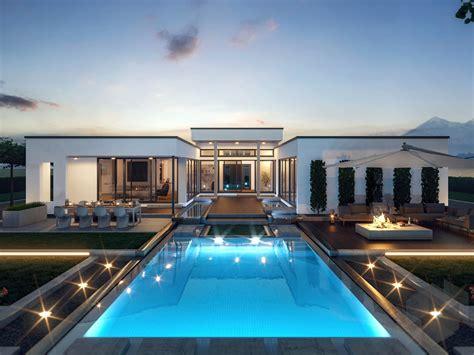grosser designer bungalow ambience  fd von bien zenker