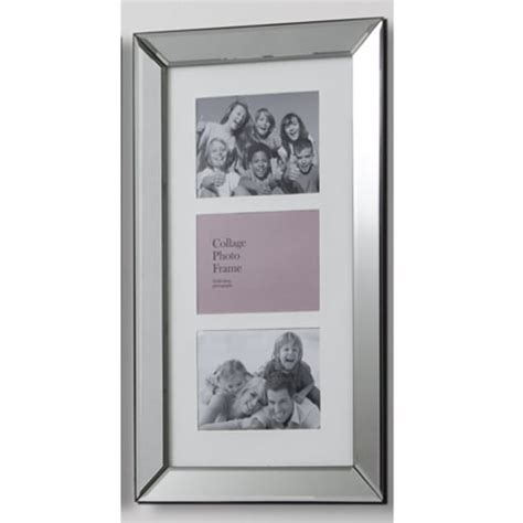 mirrored picture frames buy mirrored collage photo frame picture photograph wall