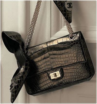 Chanel Forever Alligator by Timeless Bags Glam Fashion Dreams