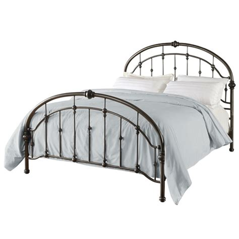 queen size metal headboard and footboard queen size metal bed in antique bronze pewter finish with