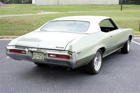 buick skylark coupe 1971 green for sale 444371z107732