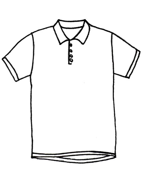 Drawing T Shirt Designs by T Shirt Drawing Clipart Best