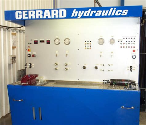 hydrostatic test bench service maintenance gerrard hydraulics