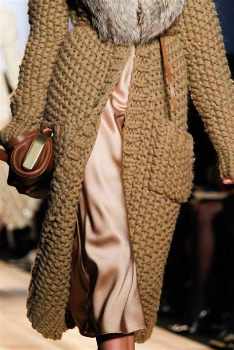knitted coats for chunky knit coat from michael kors knitting i