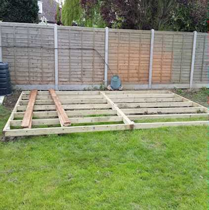 Shed Base Work Eco Friendly No Need To Cover Your Garden