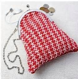 three bags knitting studio tweed purse knitting purses bags tweed