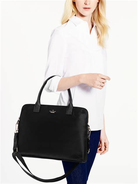 Kate Spade Daveney Laptop Bag Black lyst kate spade new york classic daveney laptop