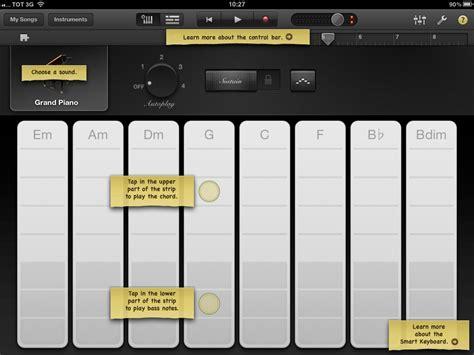 Garageband On Screen Keyboard App Review Garageband Studio ส วนต วของน กดนตร