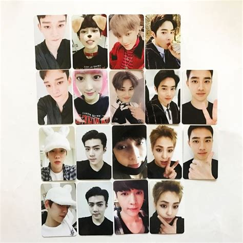 Set Photocard Kpop Exo D O 12 best exo photocards ver b images on