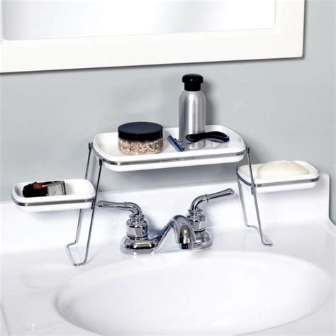 8 Brilliant Storage Ideas For Your Small Bathroom Bathroom Sink Shelf