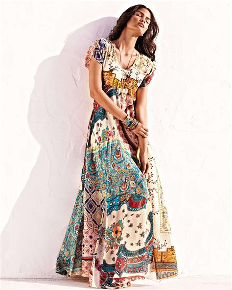 Johnny was Long Patchwork Dress   Lyst