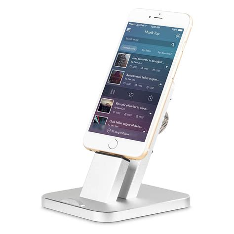 New Metal Smartphone Desk Charging Dock Holder Stand For Iphone Stand Desk