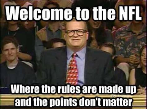 Meme Drew Carey - funny drew carey nfl meme