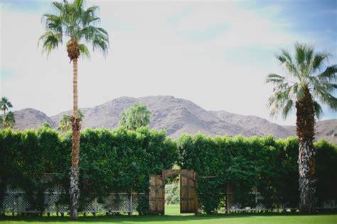 Wedding Venues Springs Ar by 14 Amazing Palm Springs Wedding Venues Every Last Detail