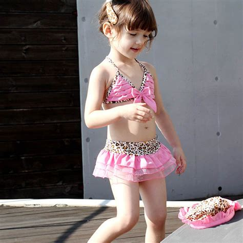 Op G G Nami Style Set sale summer style two swimsuit lovely leopard grain swimming costume