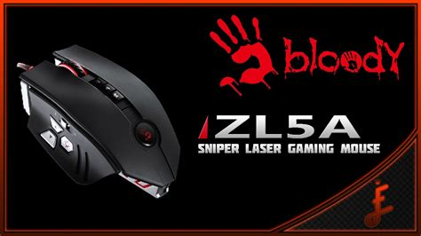 Mouse Bloody Zl5a unboxing mouse gamer a4tech bloody zl5a sniper laser series