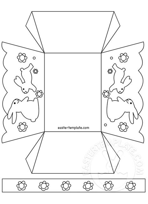 printable paper easter egg baskets paper easter basket coloring page easter template