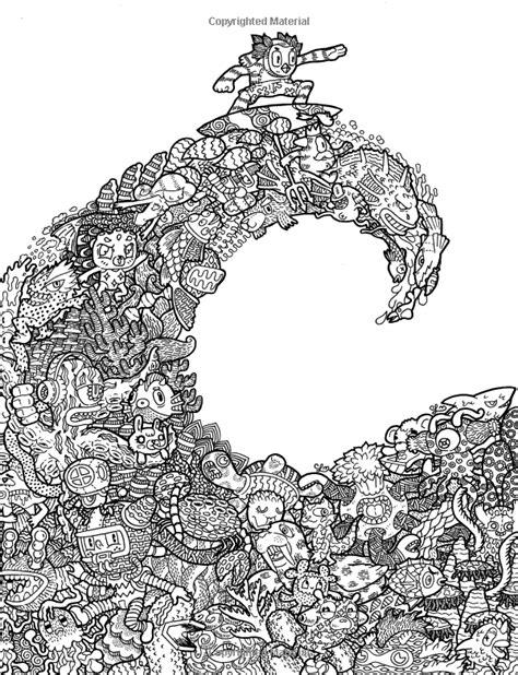 libro doodle fusion zifflins coloring fusi 243 n del doodle libro de colorante de zifflin volumen 2 zifflin lei melendres