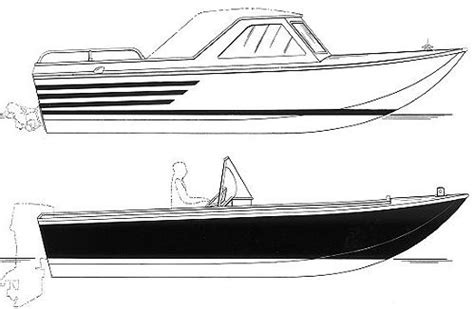 aluminum boats drawing river jet sled boat plans