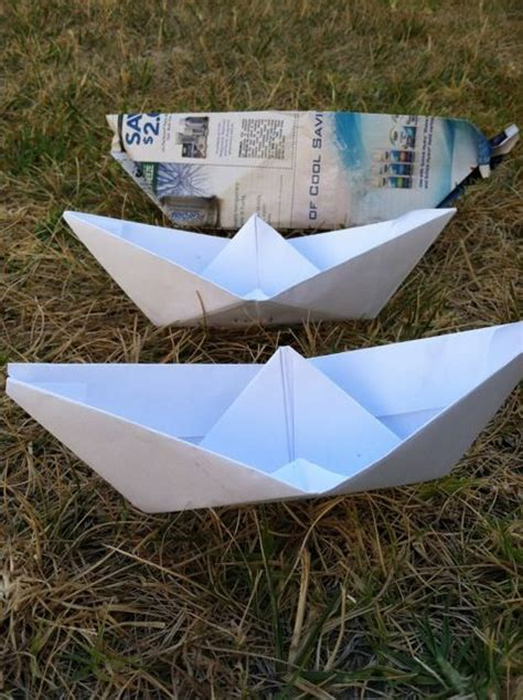 How To Make A Paper Boat That Floats In Water - make float paper boats activities boats and summer