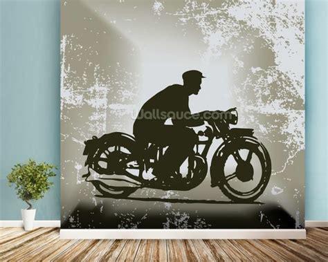 motorcycle wall murals vintage motorcycle wallpaper wall mural wallsauce