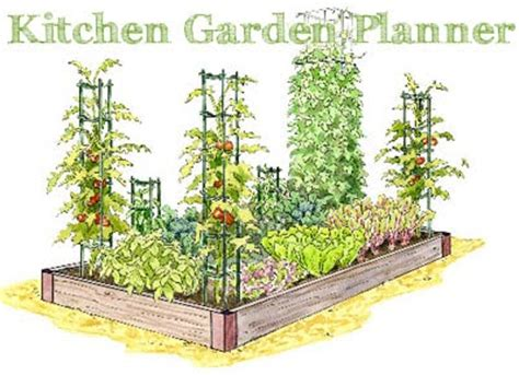 planning and layout of kitchen garden pdf new kitchen garden planner gardener s journal