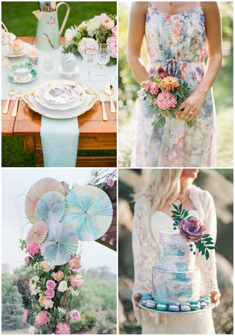 26 most beautiful watercolor ideas for your big day
