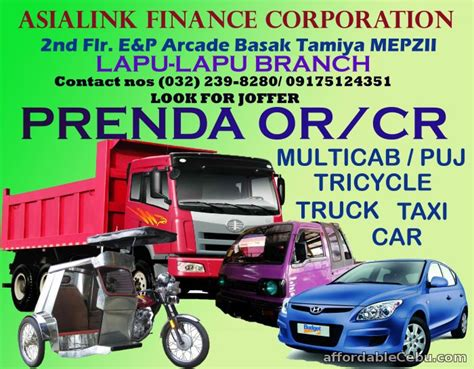 Motor Trade Lapu Lapu City by Car Loan Prenda Or Cr Offer Lapu Lapu City Cebu