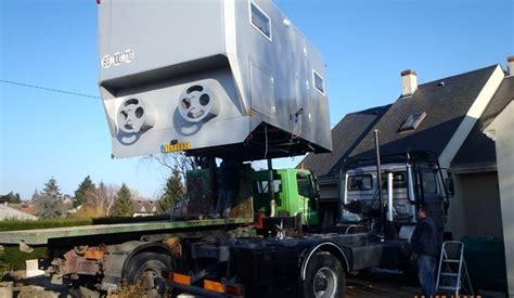 cellule cing car sur camion camion 4 215 4 construction cellule cing car carnet de