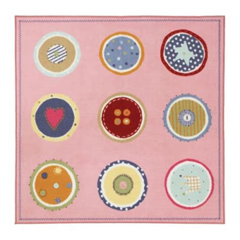 Button Rug by August 2008 The Designer Insider