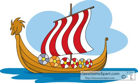 long boats cartoon viking clipart viking boat pencil and in color viking